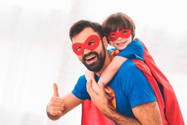 Papá Eres Mi Héroe.